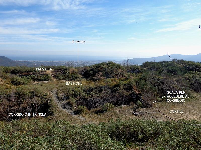 Anello della rocca livern 546 m for Cortile circolare